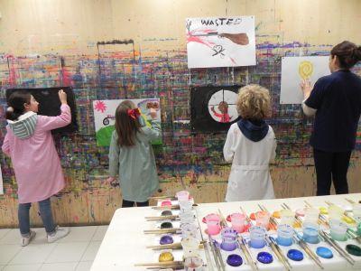 21kolore Taller De Pintura Creativa Acompañada Ingles Aleman Infantil00