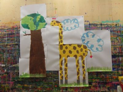 21kolore Taller De Pintura Creativa Acompañada Ingles Aleman Infantil01