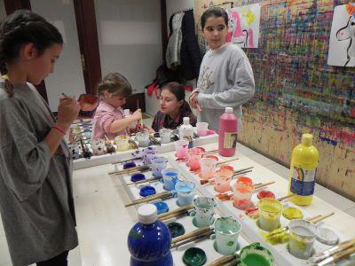 21kolore Taller De Pintura Creativa Acompañada Ingles Aleman Infantil06