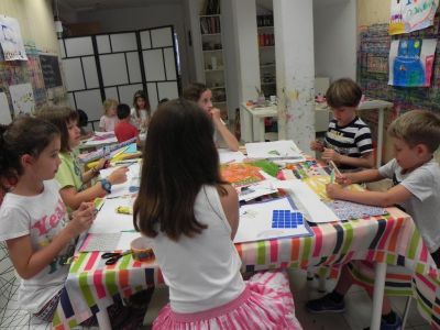 Taller De Collage Colonias De Verano 2016 05