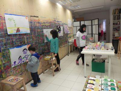 Taller Pintura Creativa Acompañada Ingles 0002