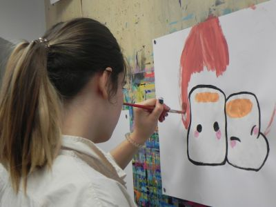 Taller Pintura Creativa Acompañada Ingles 0005